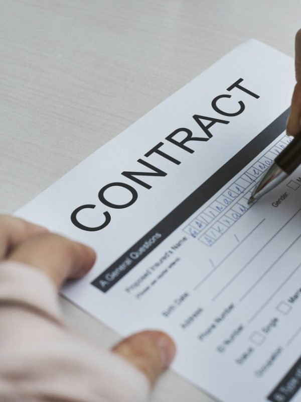 financial parenting contract credit