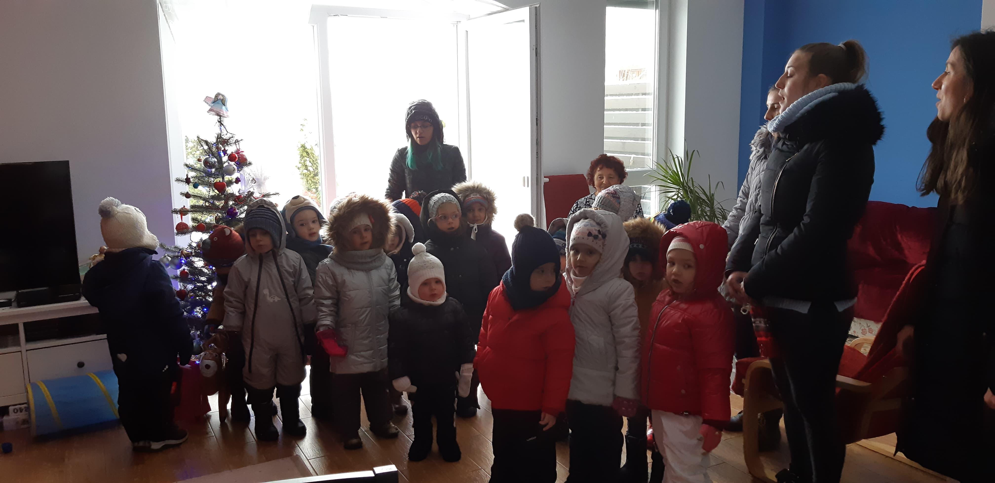 colind Crăciun, educație copii