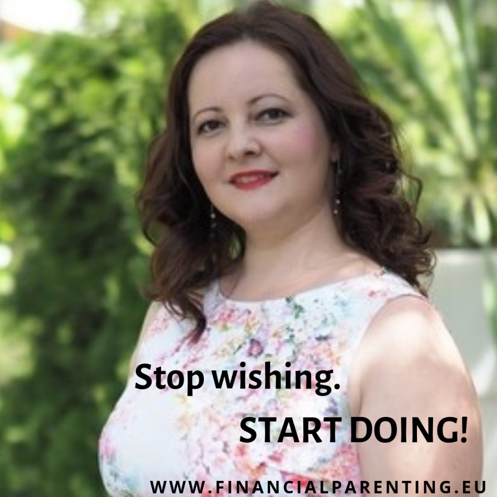 Start doing, noroc, financial parenting