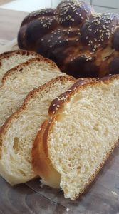 sweet bread with sourdough